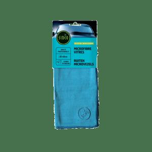 Microfibre vitres bleue photo du produit