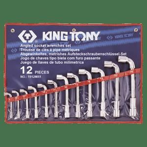 Trousse de 12 clés à pipe débouchées photo du produit
