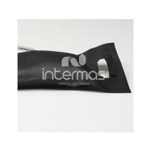 Silosac HD noir 195 g/m² tissé tirette (x25) photo du produit
