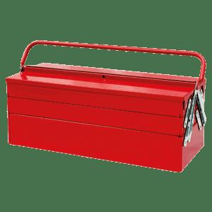 Caisse à outils métallique 5 compartiments photo du produit