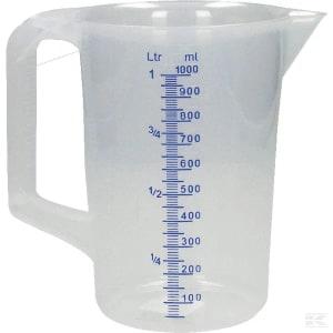 Broc doseur 1,0 litre photo du produit