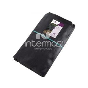 Silotex noir/vert 240g/m² avec poignée photo du produit