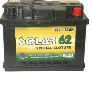 Batterie 62Ah photo du produit