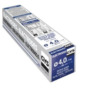 110 électrodes rutiles E6013 4mm photo du produit